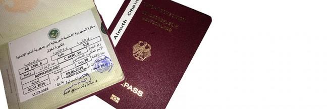 Visa_Mauretanien